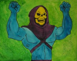 Skeletor by Dixie-Dellamorto