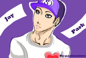 Jay Park by Pamianime
