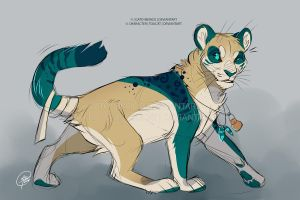 Toucat Sketch Commission 03 by Gato-Iberico