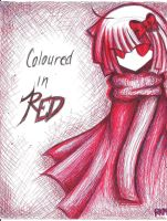 Coloured In Red by RkanMonster