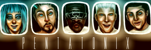 Pentatonix: Daft Punk by Xadrea