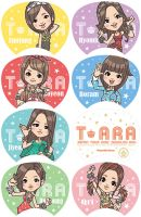 T ARA [Lovey-Dovey] fan design by moti-co