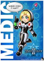 Starcraft 2: Medic by Teiflin