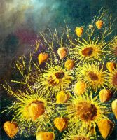 sunflowers by pledent