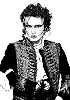 Adam Ant by Eldrtich1111