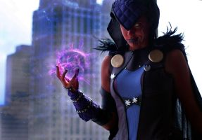 Injustice Regime Raven by GinaBCosplay