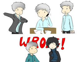 A day in the life of Detective Inspector Lestrade by Granjolras