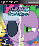 Twilight and Spike Future: A Crack in Time by nickyv917