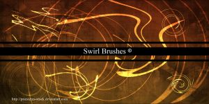 Swirl brushes by priesteres-stock