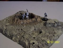 Crater terrain 01 by wolf74145