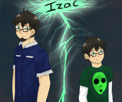 Izac young and old by my-darkness