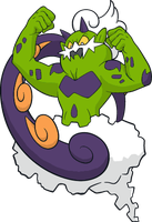 Shiny Tornadus :DreamWorld Art by Muums