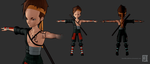Code Lyoko -  Alternative Ulrich Outfit by FearEffectInferno