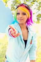 Rainbow Dash Cosplay: Take My Hand by Awesome-Vivi