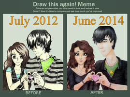 Draw This Again: Forever Less Than Three by EmoRapunzel