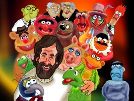 Jim Henson and the Muppets by Makinita
