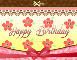 2013 Birthday Card 05 by ExoroDesigns