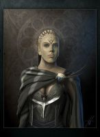 Brunhild, Queen of Iceland by Grimdar