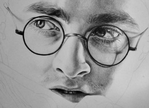 Harry Potter - Just some work in progress by EchoesOfRae