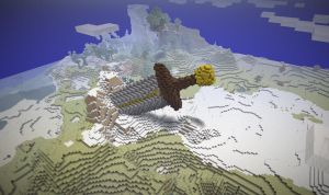 Minecraft Giant Sword by poste744