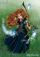 The Brave: Princess Merida by Elly-Mewchan