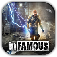 InFAMOUS Game Icon by Wolfangraul