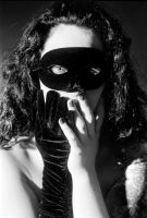 Masked Woman by SGneedle