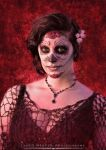 Sugar Skull Makeup by Anesthetic-X