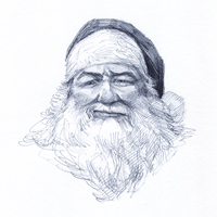 Grumpy Santa by characterundefined