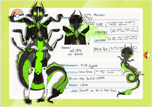 [JIRACHISTATION] Nio Bhairava the Zygarde [APP]