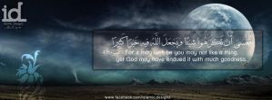 Maybe it is for your own good by islamicdesignz