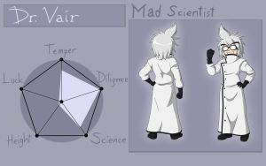 OC ref - Dr. Vair by CorruptKING
