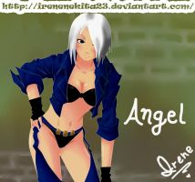 Angel KOF by Irenechii