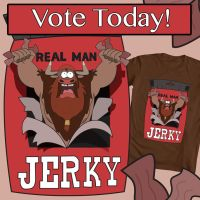 Jerky! Vote today! by Tsitra360