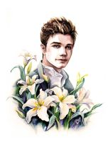 Chris Colfer by ORDOS-Kety