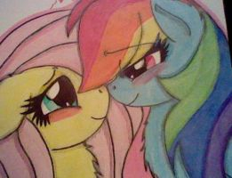 flutterdash:eskimo kisses close up by kimmaieythefox