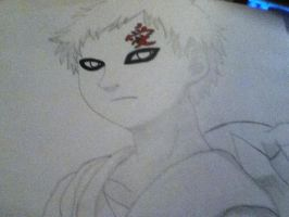 Gaara of the Sand by Tonnie95