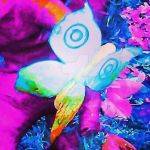 Psychedelic butterfly by RustiiAqua