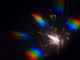 Another Rainbow Firework by tulf42