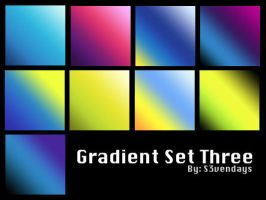 Gradient Set Three by s3vendays