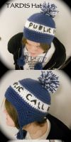 TARDIS Hat by the-carolyn-michelle