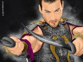 spartacus by juanpipaw