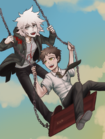 SDR2: Swing by by xShieru