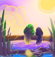 CotW26 - Enchanted Sunset by LOLlyACE