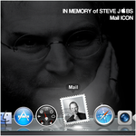 Steve Jobs mail icon by D1m22