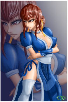 Kasumi by ChalklateRain