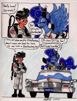 Luna and Tommy in Ghostbusters by newyorkx3