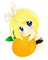 Mmm.. I love oranges by R-I-N-O