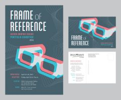 Frame of Reference Poster and Postcard by SaraChristensen