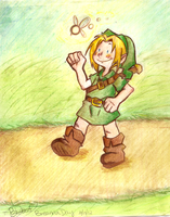 Happy Link by OpticBlast00